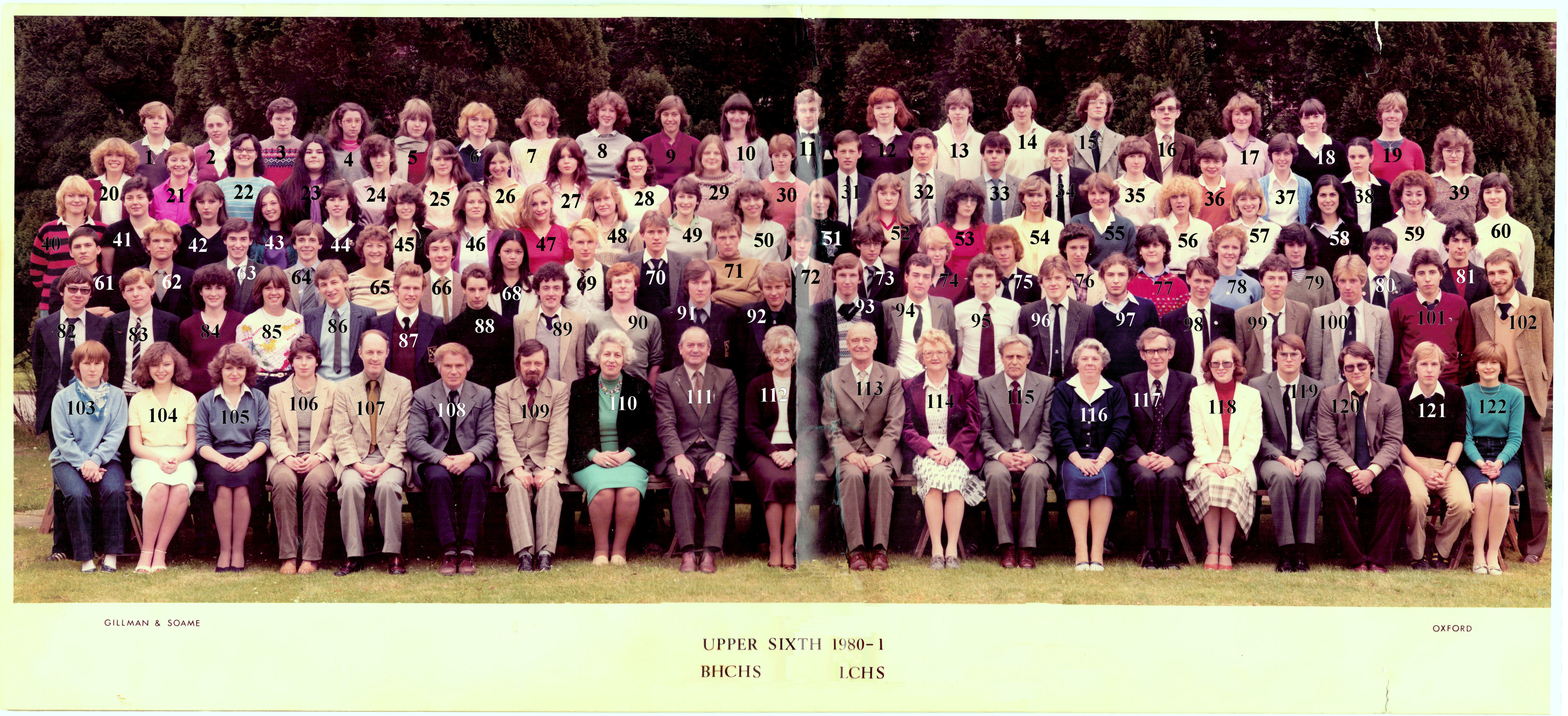1980-81 combined 6th form
