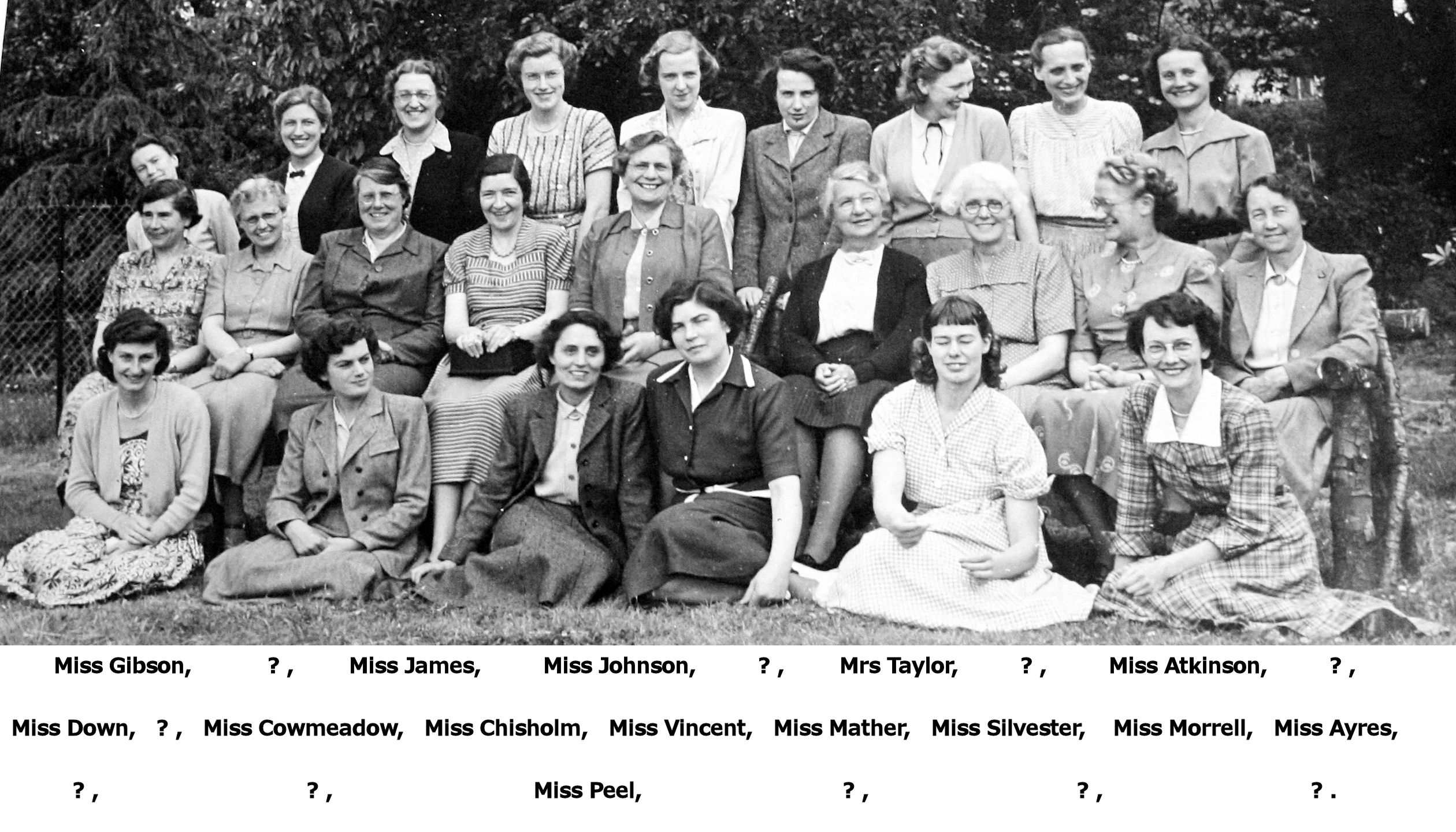 Teachers 1950 or 51